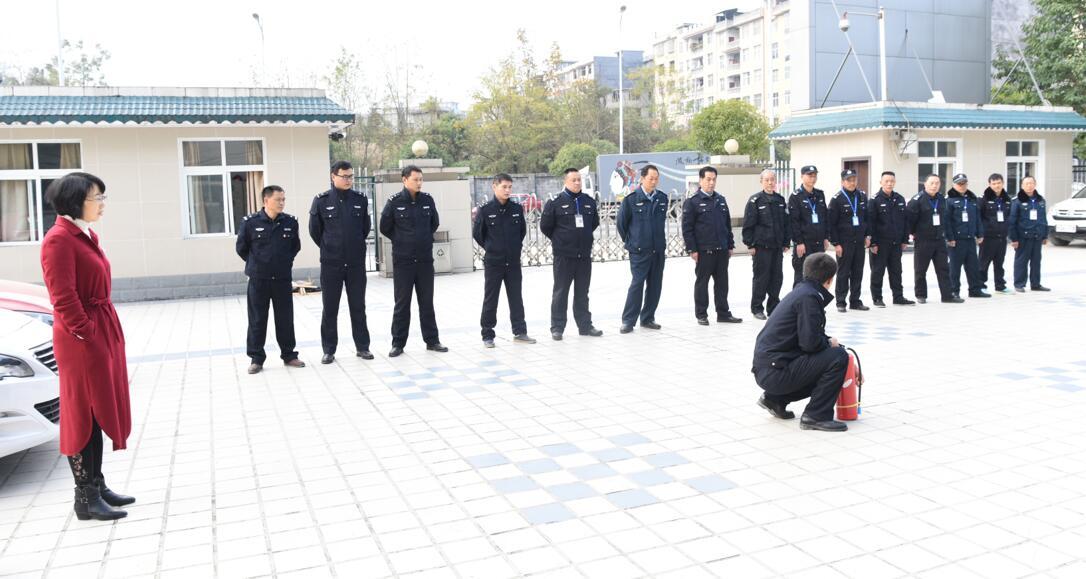 咸丰法院举行消防安全演练